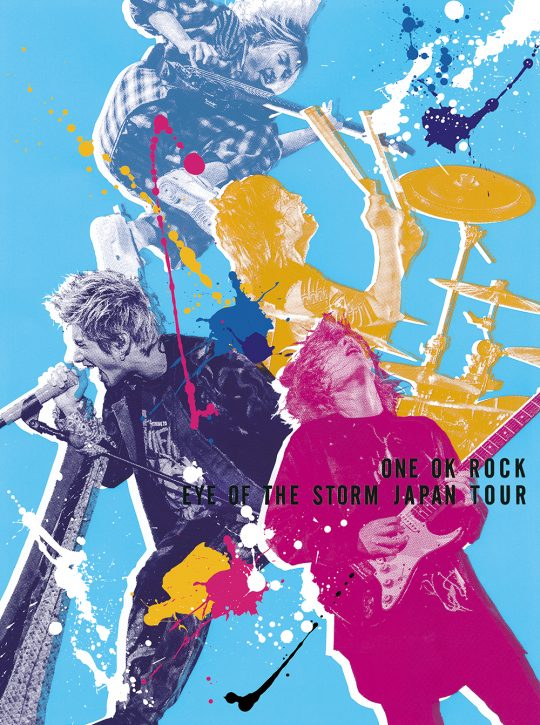 """ONE OK ROCK """"EYE OF THE STORM"""" JAPAN TOUR"""